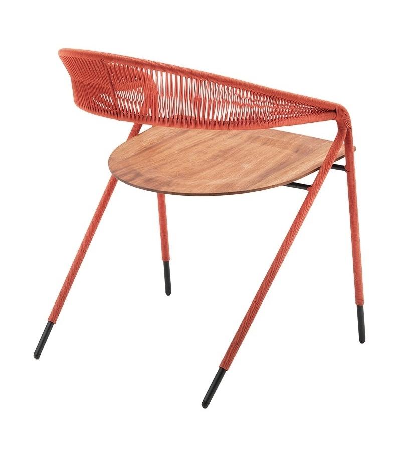 George 39 s living divani small armchair in rope milia shop for Chaise longue divani e divani