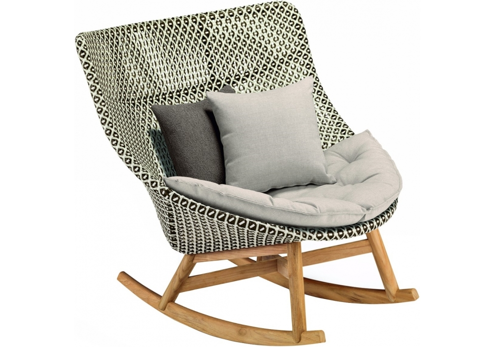 Mbrace dedon sedia a dondolo milia shop - Sedia a dondolo design ...