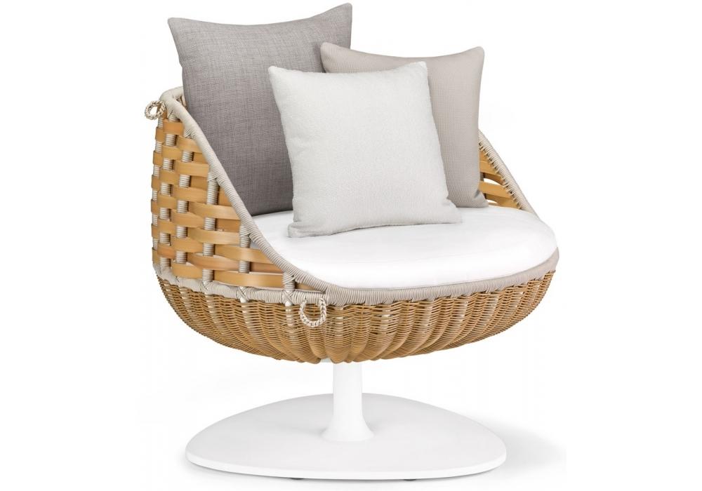 Prime Swingme Dedon Rotating Lounge Chair Milia Shop Short Links Chair Design For Home Short Linksinfo