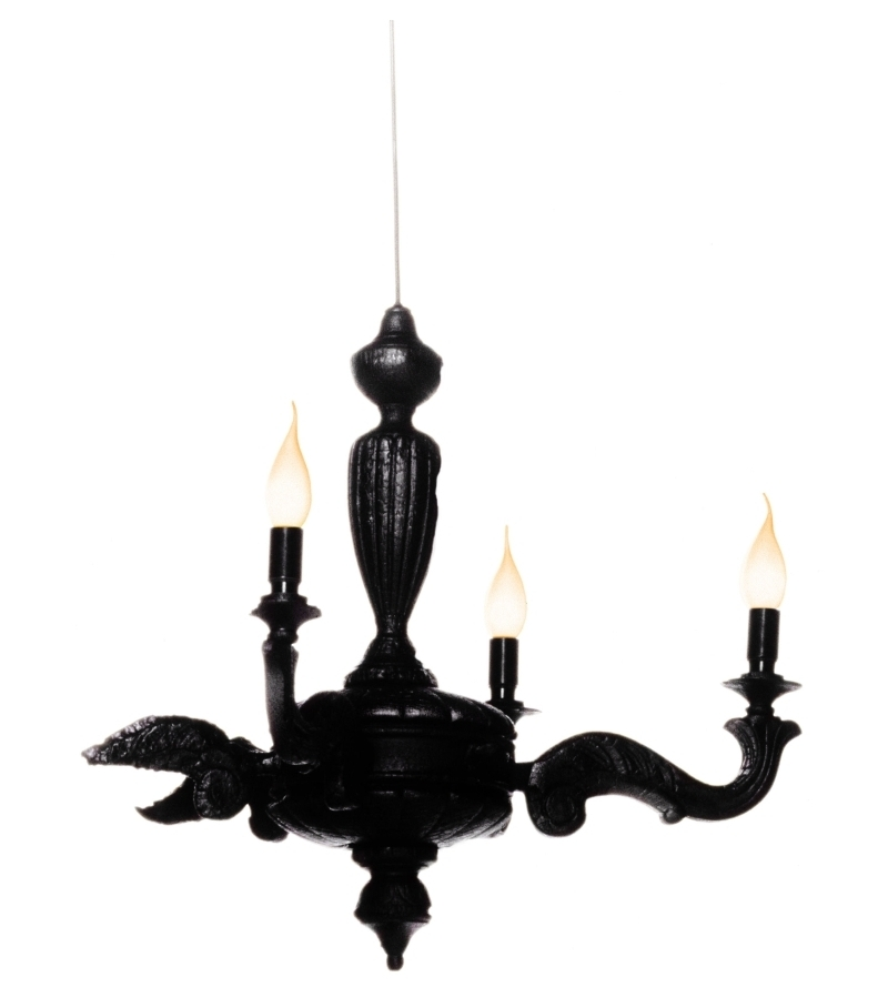 Smoke chandelier lmpara de suspensin moooi milia shop smoke chandelier aloadofball Image collections
