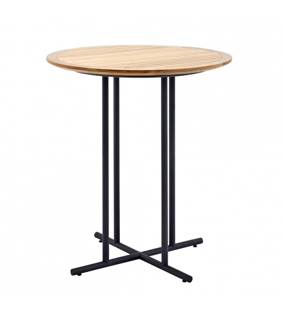 Whirl Gloster Round Bar Table