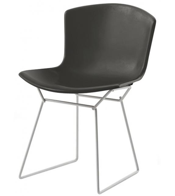 Bertoia Plastic Knoll Set von 2 Side Stühlen
