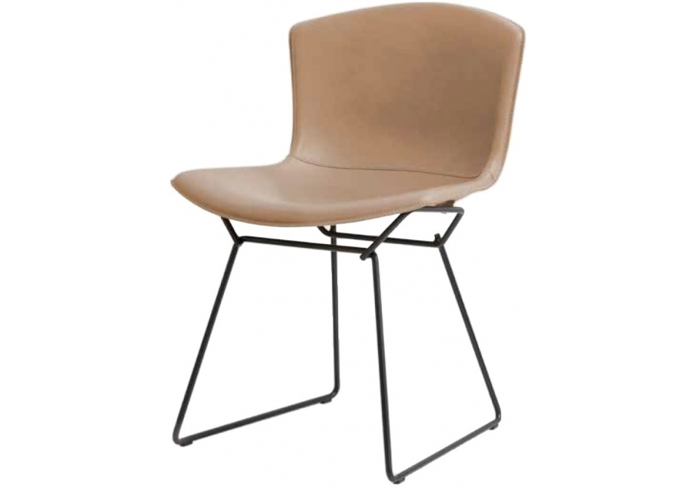 Superb Bertoia Knoll Side Chair In Cowhide