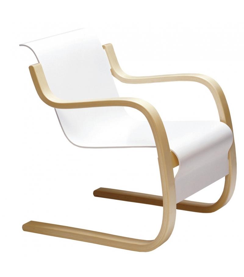 42 armchair artek milia shop for Alvar aalto chaise longue