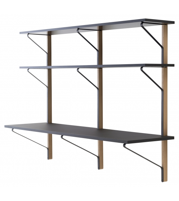 REB 010 Kaari Shelf with Desk Artek