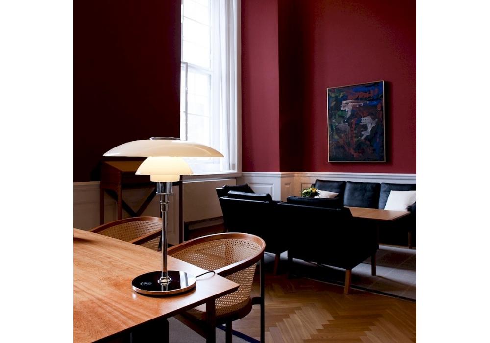 ph 4 3 glass louis poulsen lampe de table milia shop. Black Bedroom Furniture Sets. Home Design Ideas