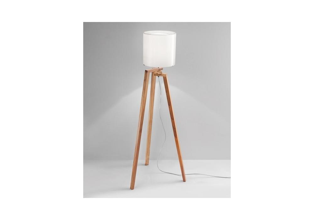 stehleuchte tripod wood. Black Bedroom Furniture Sets. Home Design Ideas