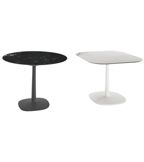 multiplo kartell table avec pied central milia shop. Black Bedroom Furniture Sets. Home Design Ideas