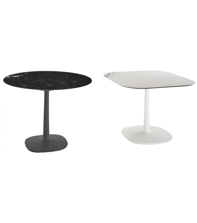multiplo kartell table with central leg milia shop. Black Bedroom Furniture Sets. Home Design Ideas