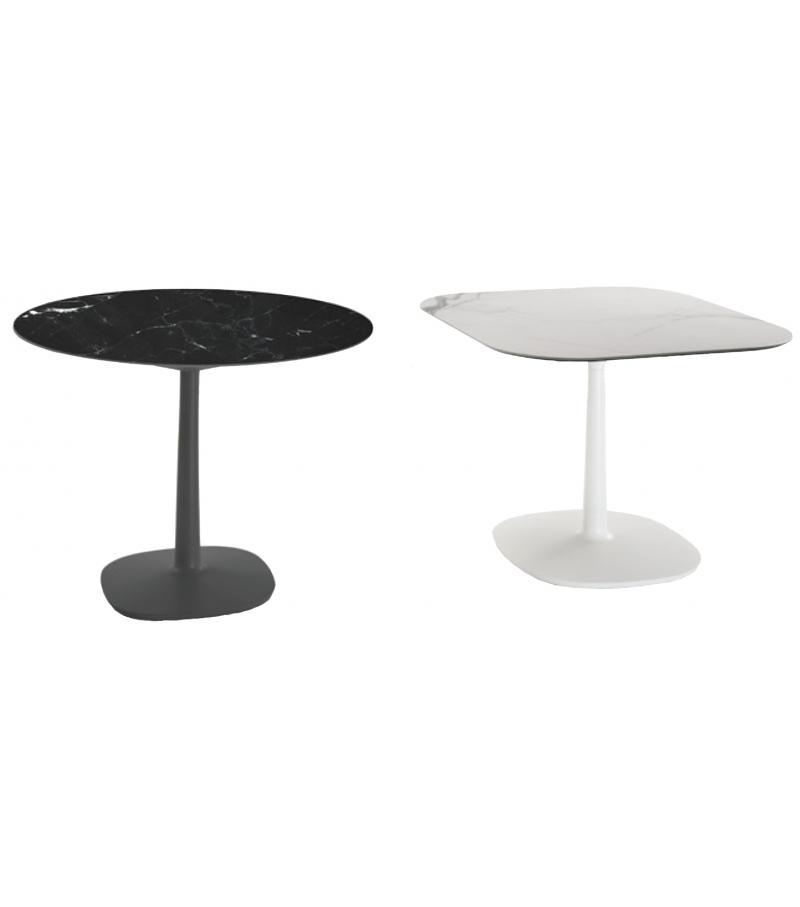 Multiplo Kartell Tisch mit Tellerfuß