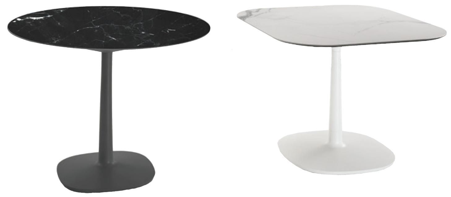 design table pied central cuisine design et d coration photos. Black Bedroom Furniture Sets. Home Design Ideas