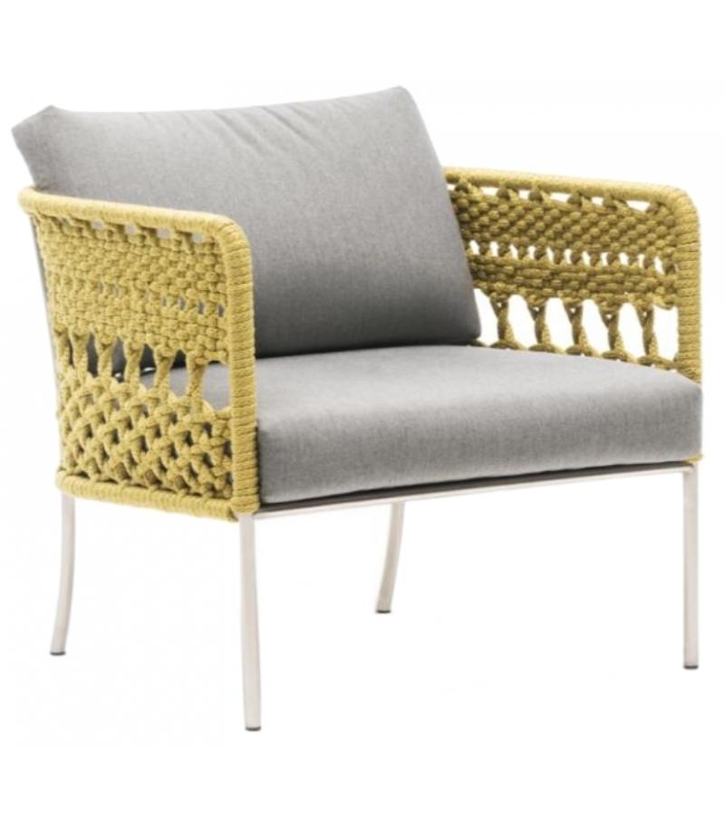 Tombolo living divani armchair milia shop for Chaise longue divani e divani