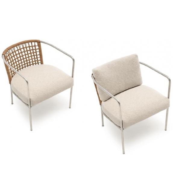 Mini caf living divani armchair milia shop for Chaise longue divani e divani