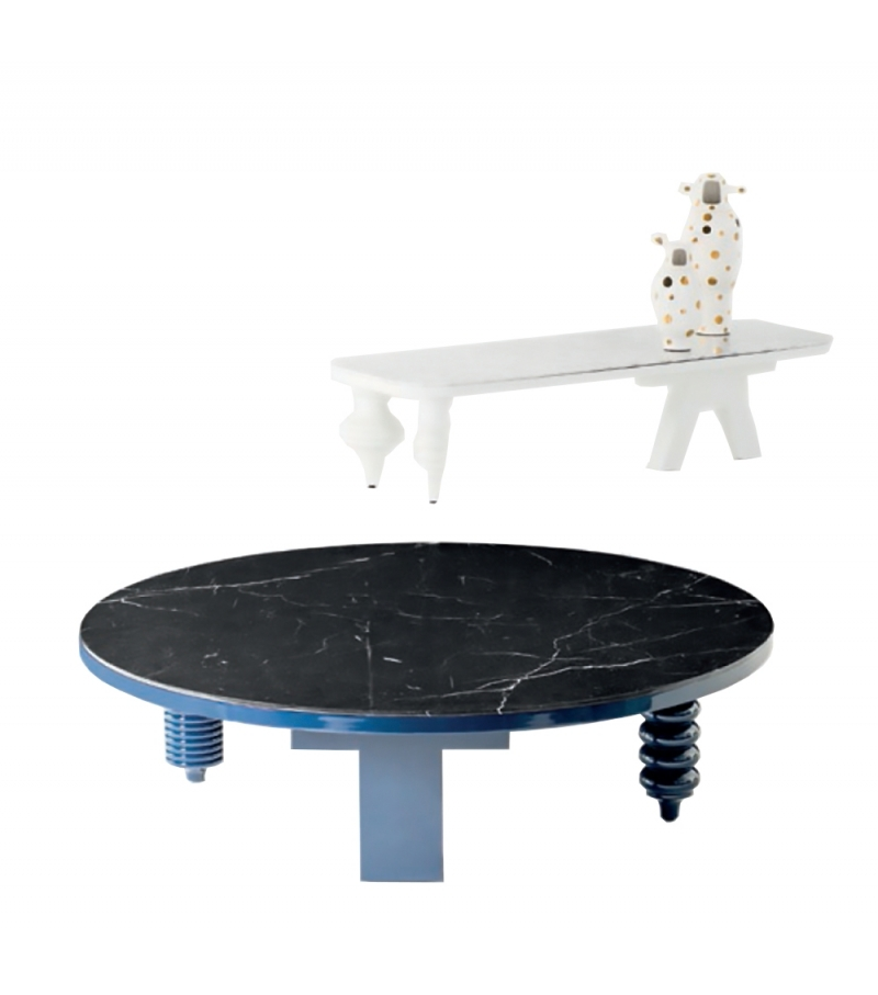 Marble Multileg Low BD Barcelona Design Coffee Table
