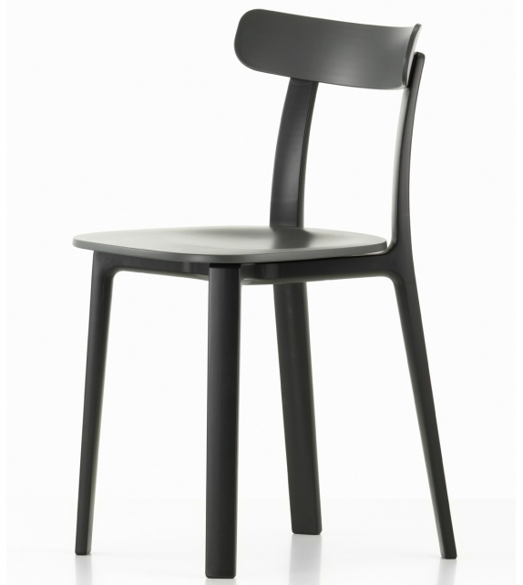 All plastic chair vitra sedia milia shop for Sedia design vitra