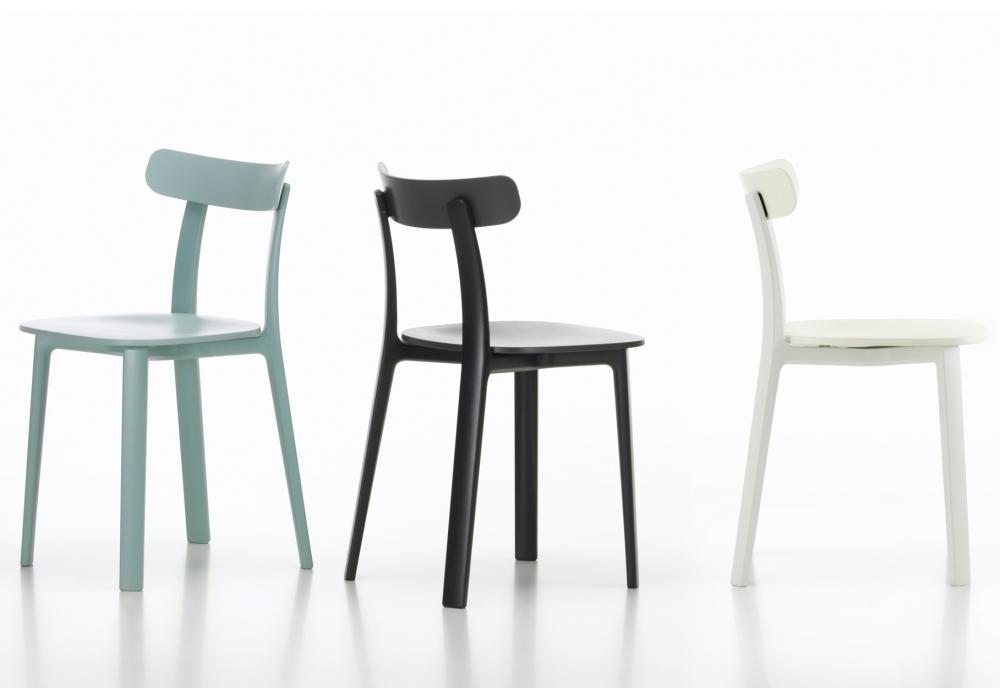 All Plastic Chair Vitra Sedia - Milia Shop