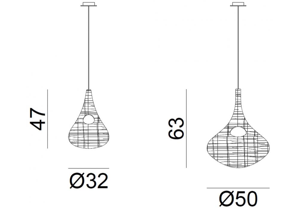 spin gervasoni pendant lamp