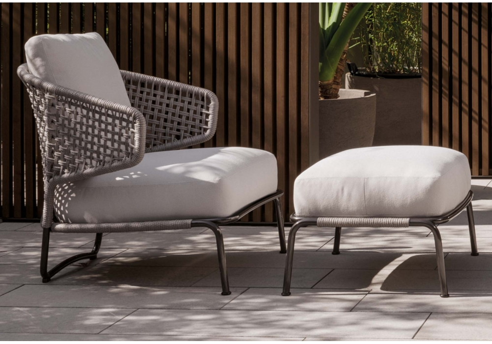 Aston Cord Outdoor Minotti Armchair - Milia Shop