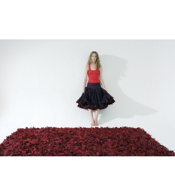Little field of flowers rosso