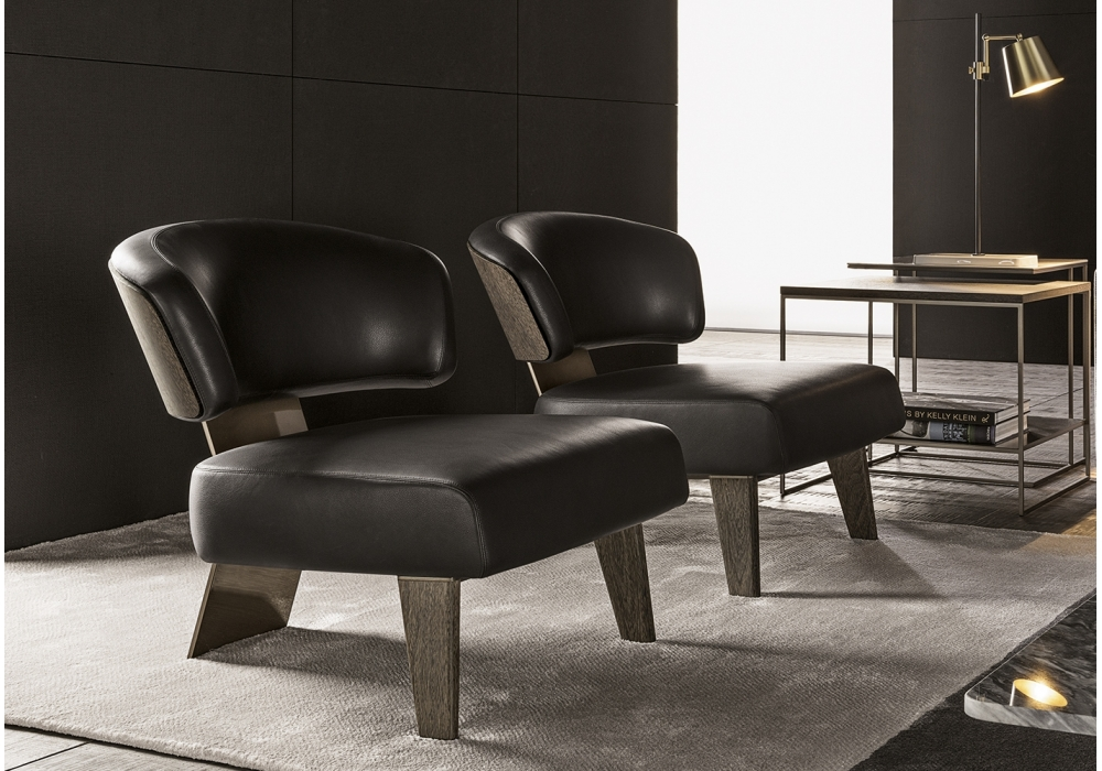 Creed wood minotti fauteuil milia shop - Meubles minotti ...