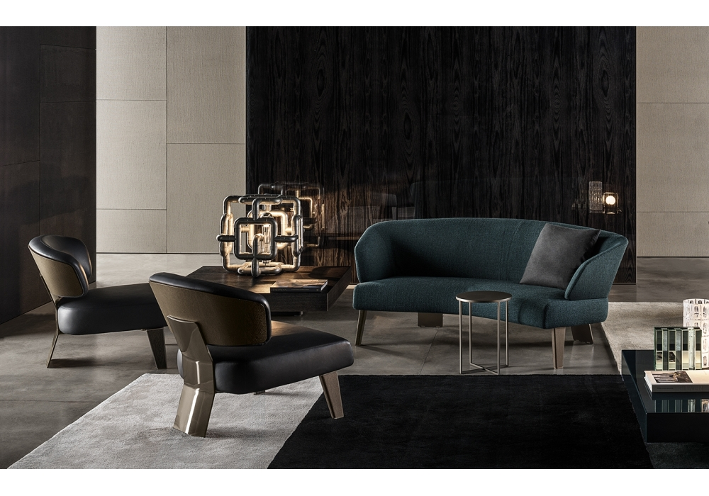 creed lounge minotti halbrundes sofa milia shop. Black Bedroom Furniture Sets. Home Design Ideas