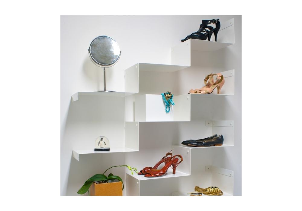 cloud steps ok design wandregal milia shop. Black Bedroom Furniture Sets. Home Design Ideas