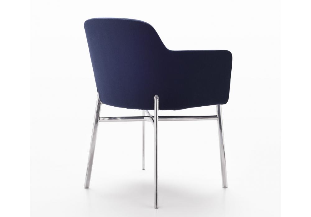 Pleasing Krusin Knoll Chair With Armrests Milia Shop Creativecarmelina Interior Chair Design Creativecarmelinacom