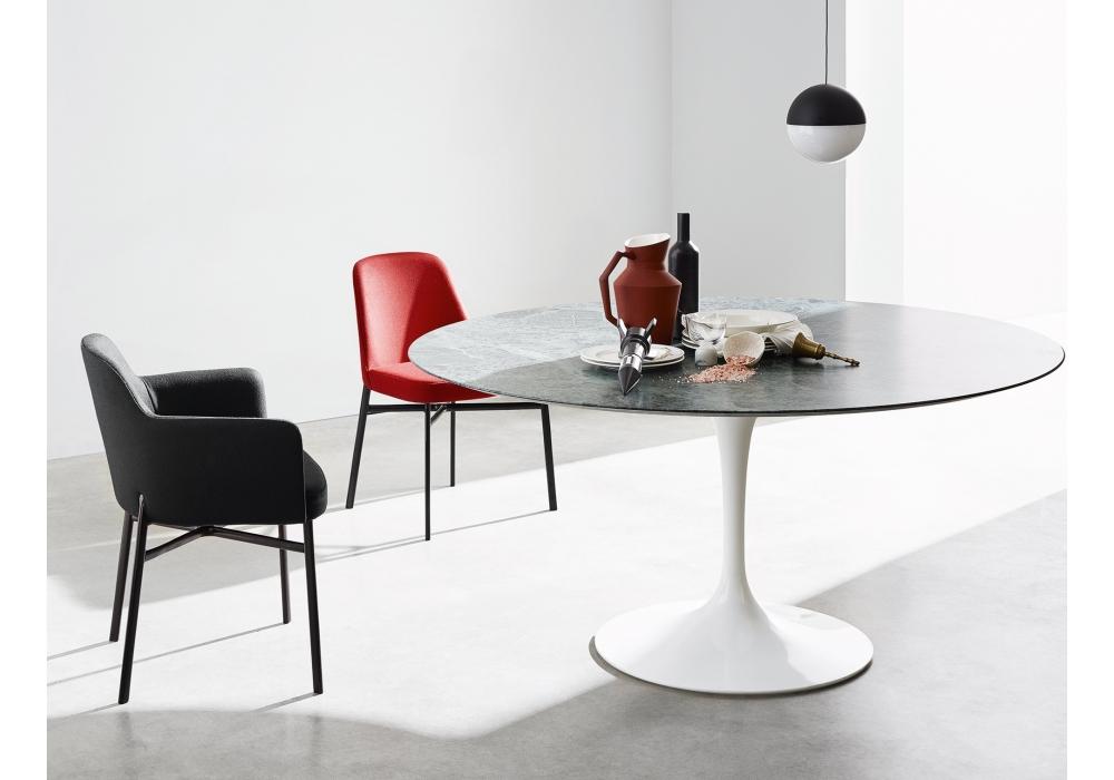 Swell Krusin Knoll Chair With Armrests Milia Shop Creativecarmelina Interior Chair Design Creativecarmelinacom