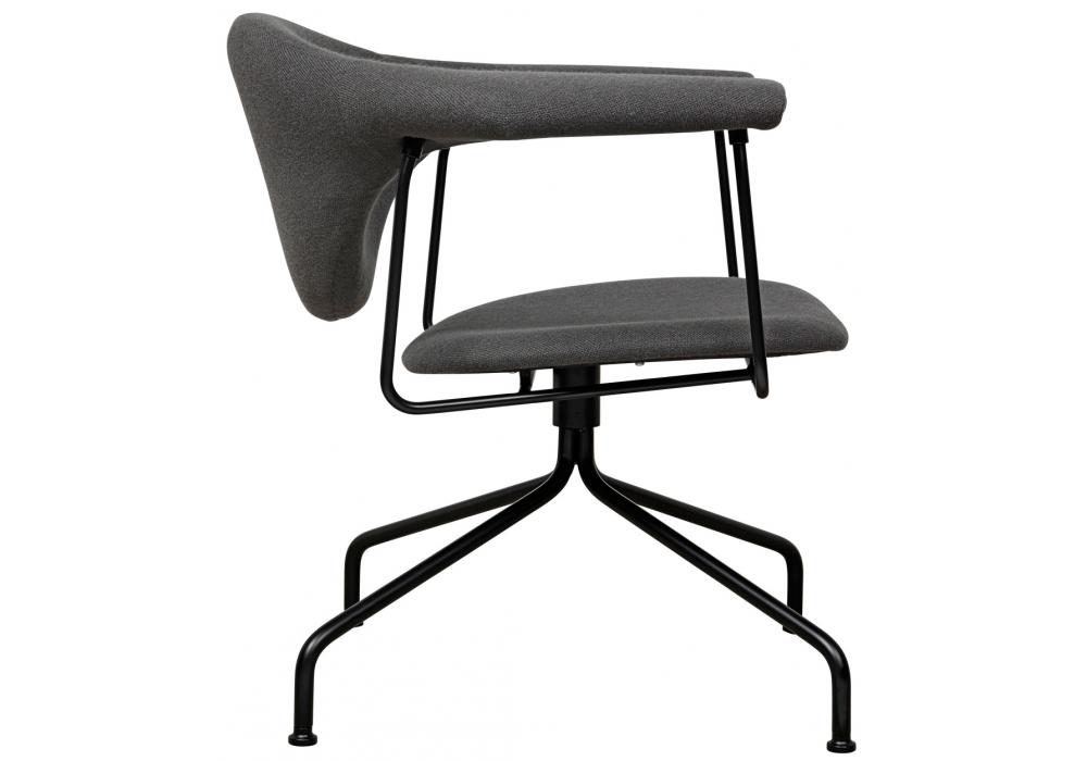 masculo lounge gubi chaise pivotante milia shop. Black Bedroom Furniture Sets. Home Design Ideas