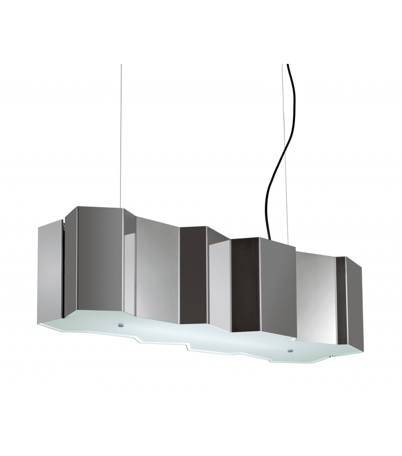 Fold pallucco suspension lamp milia shop for Lustre suspension moderne