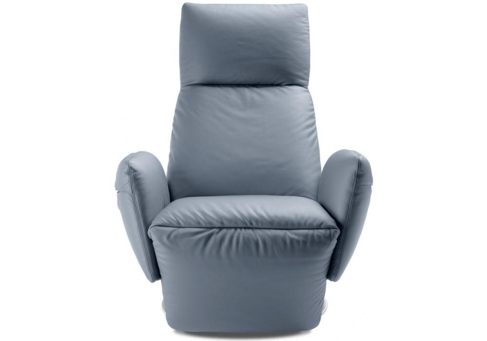 Pillow poltrona reclinabile manuale poltrona frau milia shop for Poltrona reclinabile