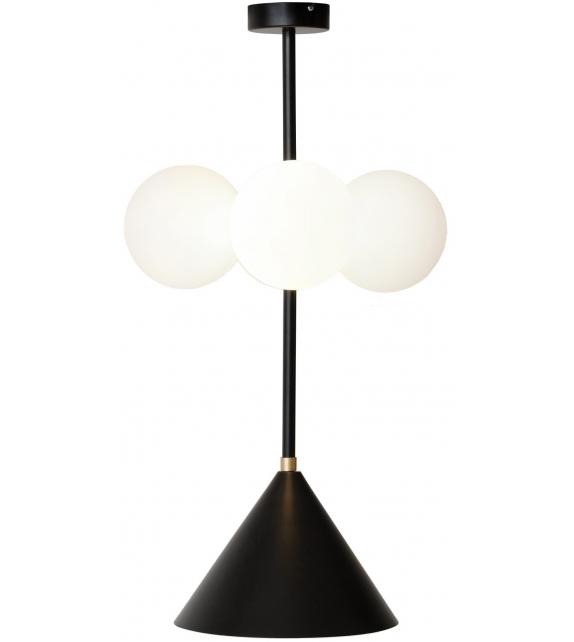 Axis Cone and Globes Atelier Areti Suspension