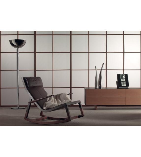 don 39 do fauteuil bascule poltrona frau milia shop. Black Bedroom Furniture Sets. Home Design Ideas