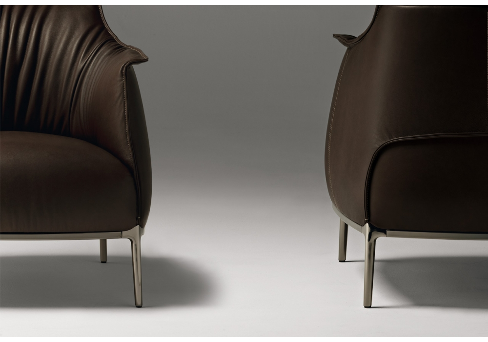 archibald armchair poltrona frau milia shop. Black Bedroom Furniture Sets. Home Design Ideas