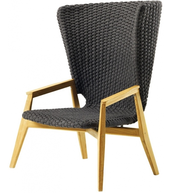 Knit Ethimo High Armchair