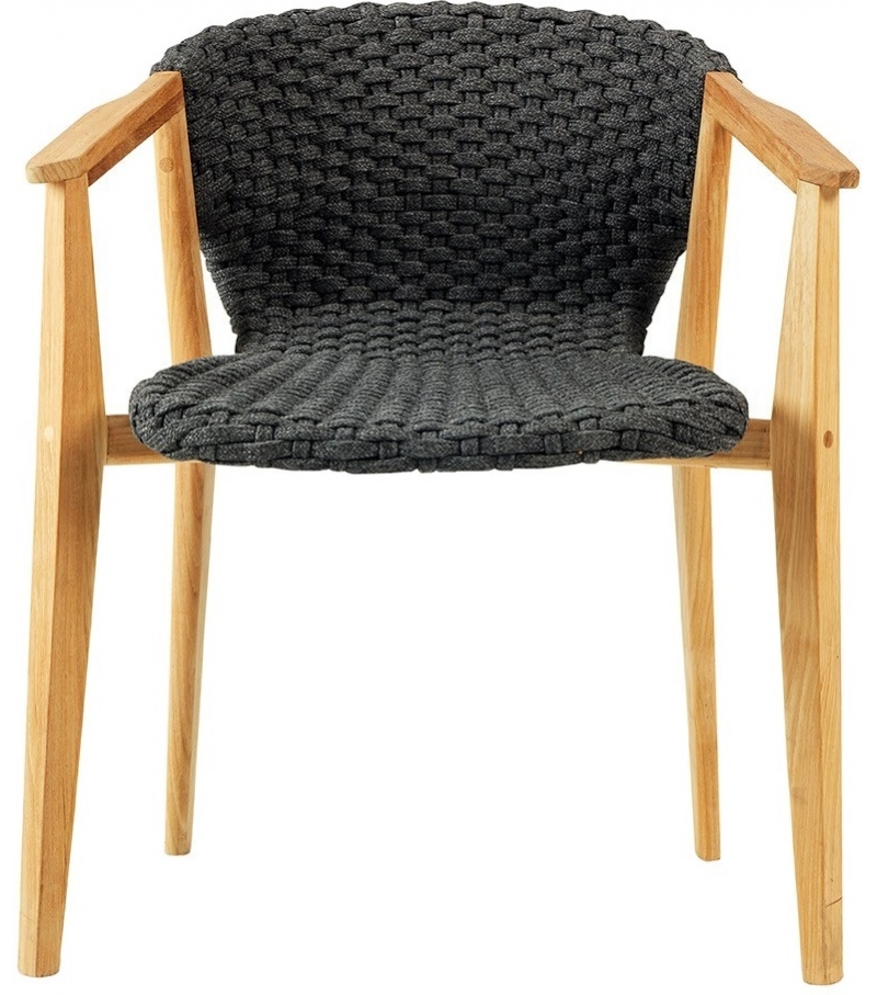 Knit Ethimo Small Armchair - Milia Shop