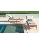 Costes Ethimo Sunlounger