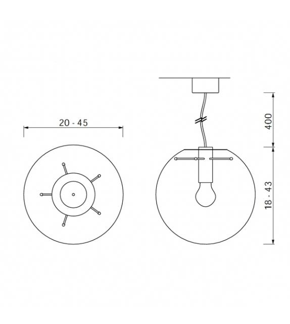 selene classicon suspension lamp