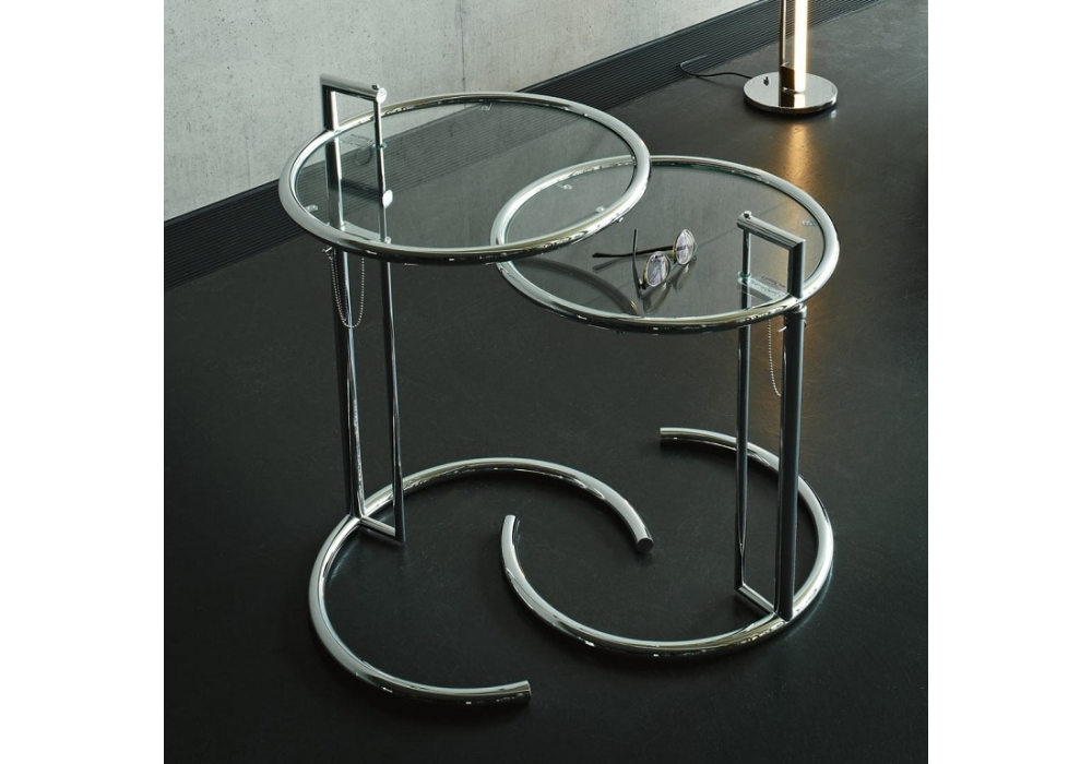 adjustable table e 1027 classicon beistelltisch
