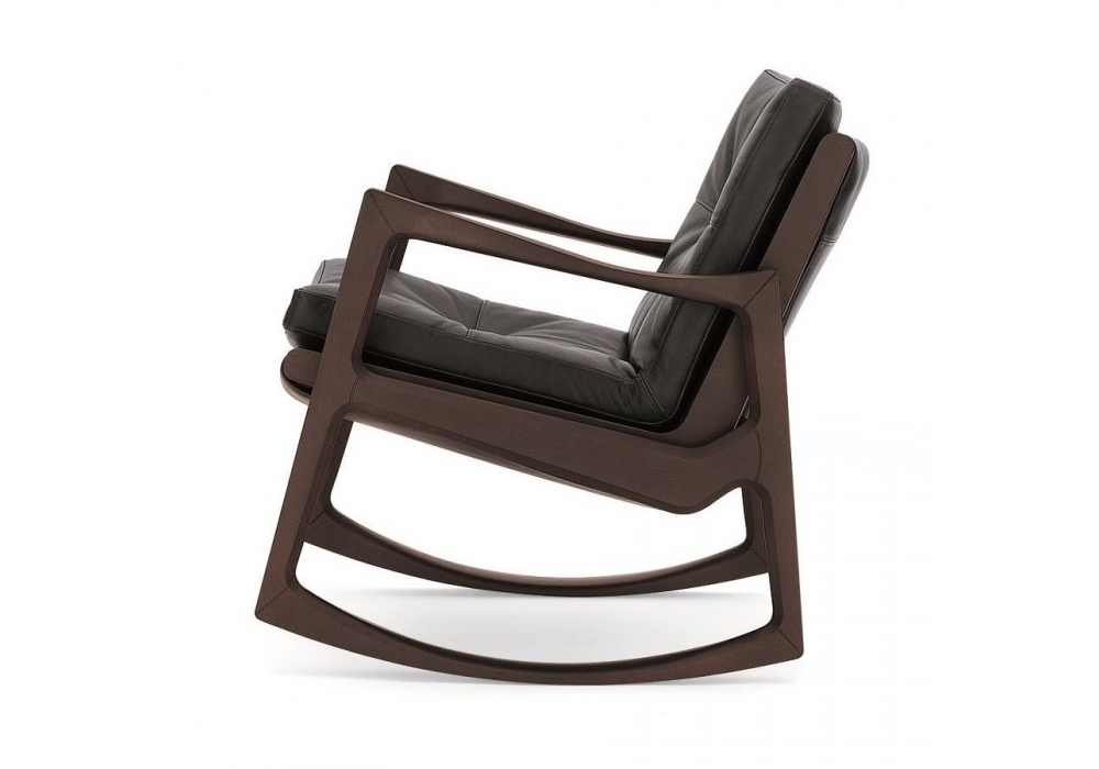 euvira classicon upholstered rocking chair milia shop. Black Bedroom Furniture Sets. Home Design Ideas