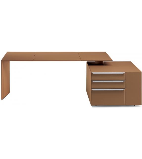 C.E.O. Cube Desk Poltrona Frau Bureau