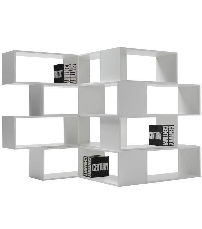 nendo zigzag for zig bookcase designcurial zag creates news studio lema