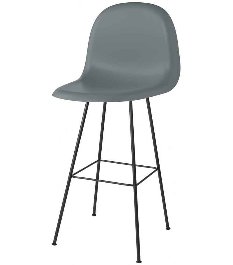 3d bar chair gubi sedia milia shop for Sedie design 3d
