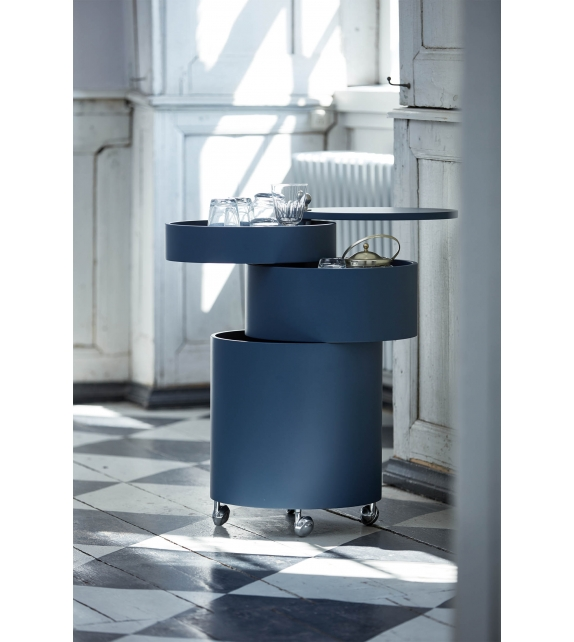 Barboy Verpan Side Table with Drawers