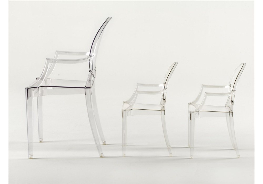 Kartell lou lou ghost chair milia shop for Chaise ghost kartell