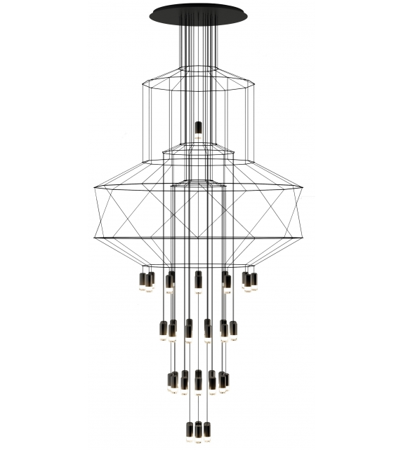 Wireflow Vibia Chandelier