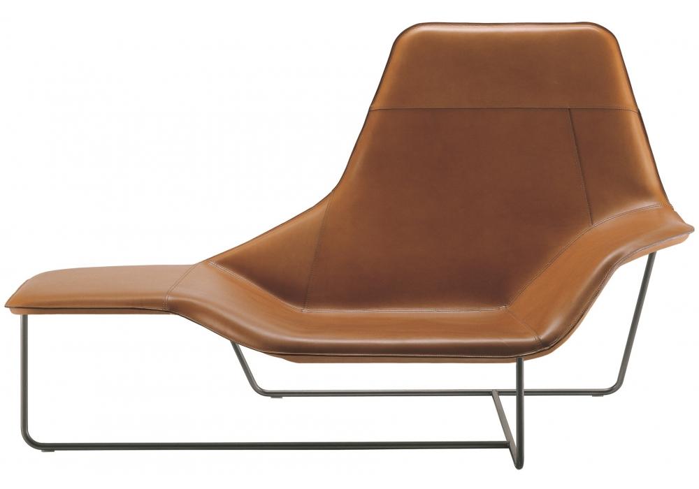 921 lama zanotta chaise longue milia shop for Chaise longue next
