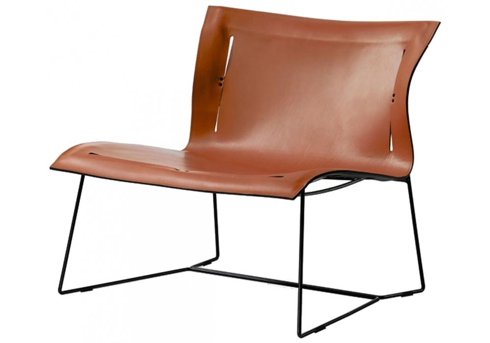 Cuoio Walter Knoll Lounge Chair Milia Shop