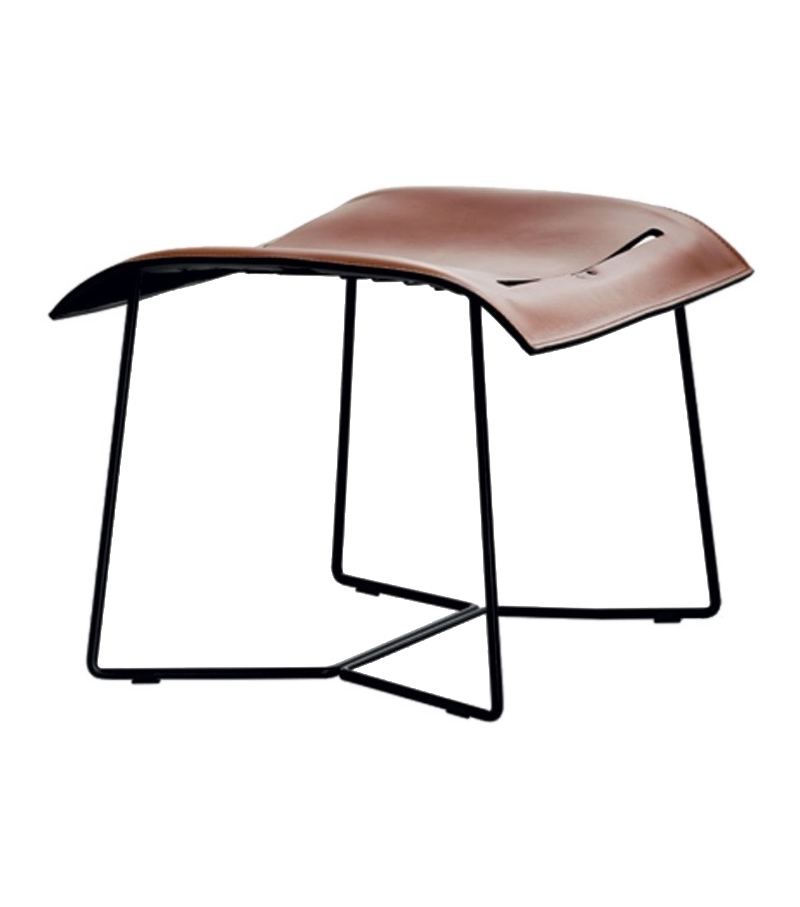 Cuoio Walter Knoll Footstool