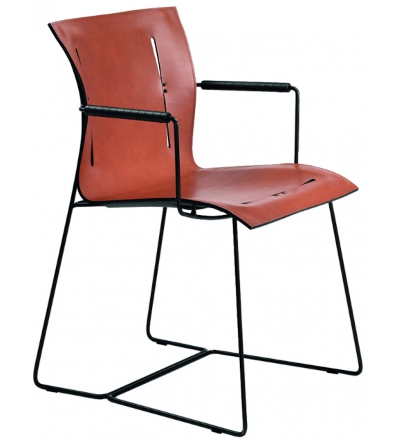 Cuoio walter knoll chaise milia shop for Chaise knoll